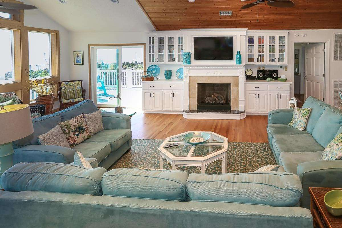 Outer Banks Rentals with Fireplace