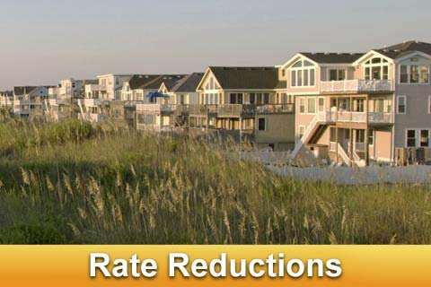 Outer Banks Rentals Rate Reduction