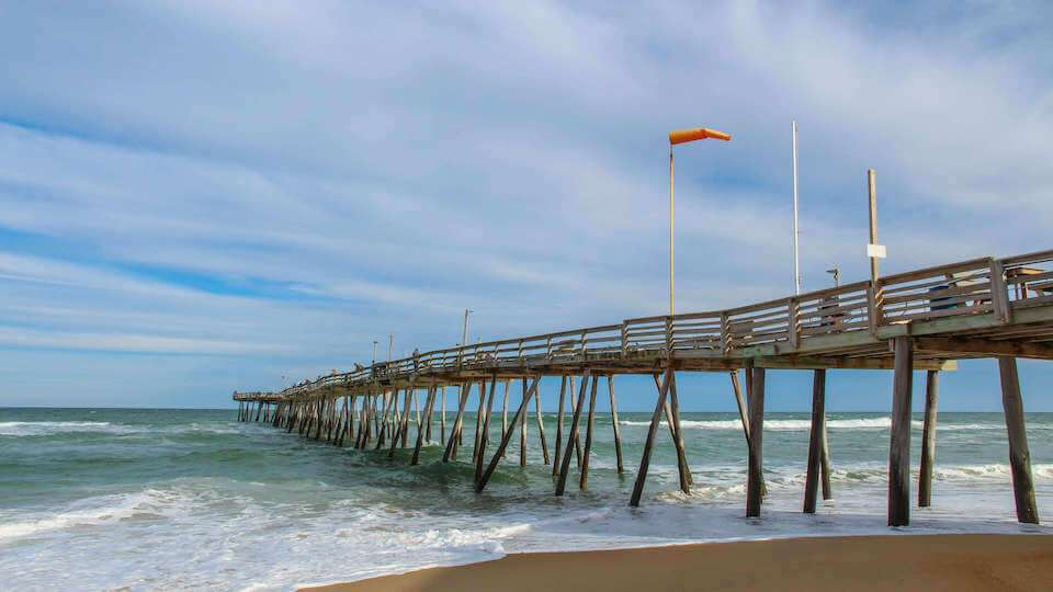 Kill Devil Hills Is Home To One Of The Outer Banks Most Beloved Piers Avalon Pier Stretching Nearly 700 Feet Into Atlantic Ocean A